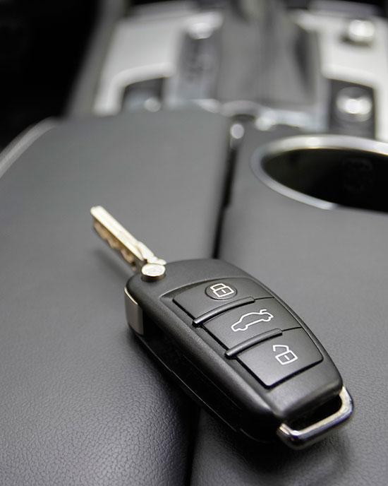 Открыть машину